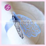 Creative shape Wholesale Paper Laser Cut Wedding Party Decoration Napkin Ring MJ-28