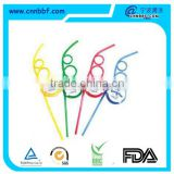 Party decoration cute disposable crazy drinking straw with logo-bugs bunny