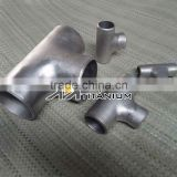ASME 16.9 Painted or Sand blasting Surface Titanium Pipe Fittings