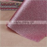 PU glitter artificial leather for upholstery and decorative