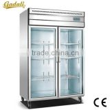 Fast cooling fridge freezer, used glass door freezer, supermarket freezer                                                                         Quality Choice