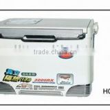 Plastic fishing cooler box case