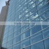 CE ISO AS/NZS CCC insulating glass curtain wall/laminated insulated glass curtian wall/tempered insulating glass curtain wall