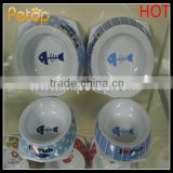 Wholesale Melamine Cat Bowl With Fish Pattern