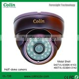 Antifogging and anti-reflection IR CCTV dome camera with 1/3 inch Sony CCD
