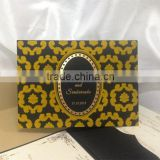 gold embossed black paperboard fold pocket best price wedding invitation cards