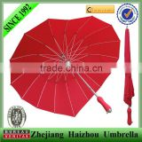 promotional red love heart shape umbrella,wedding umbrella