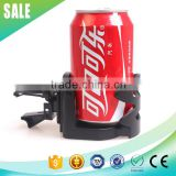 Hot sale black outlet plastic adjustable drink holder for car