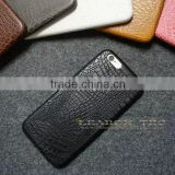 new arrival cheap mobile phone case, case for iphone 6 back leather case crocodile skin-leabon
