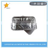 Food packing box aluminium foil container products with lid manufacture