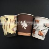 480ml large biodegradable single wall paper cup with pe coated for coffee, noodle, congee, tea