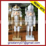 The handmade wooden nutcracker wholesale toy soldier nutcracker outdoor&indoor nutcracker