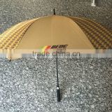 Hot selling Promotional Rain automatic open stock golf umbrella                                                                         Quality Choice
