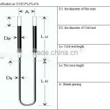 Molybdenum Disilicide heating rod