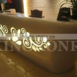 led lighted bar counters bar tables cheap reception desk