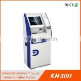 New Credit card Issuing machine / personalized membership card printing machine with ID/passport scanner