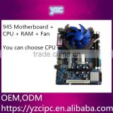 Integrated Graphics Card Type and Intel 945 Chipset motherboard Manufacturer with dual core CPU and 2gb ddr2 graphics