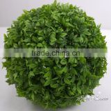 Customized size artificial ornamental grass ball boxwood topiary ball with wholesale price