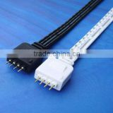 Flexible 5050 SMD RGB LED Strip Light Connector Cable Wire With 4-Pins Connectors For Connecting several light segments together