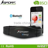 Heart rate monitor bluetooth heart rate strap comfortable elastic strap android and ios compatible
