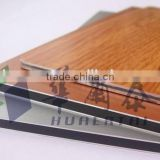 hard plastic materials of 3 mm mirror surface / mirror finishing materials /silver mirror aluminum composite panel