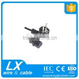 3 pin connector ac power cord for home appliance                                                                         Quality Choice