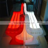 led outdoor garden plastic chair,outdoor furniture garden chair,led light garden chair set