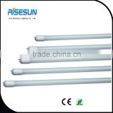 Universal T8 linear glass daylight led tube lamp light fixture with emergency microwave sensor
