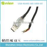 CABLE, USB/RS485 CONV, WIRE-END, 5M Part # FTDI USB-RS485-WE-5000-BT