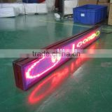 HOT!!!! P6 led taxi scrolling message sign,led display sign for bus