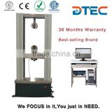 DTEC DDW-10 Electronic Universal Testing Machine,10KN,Computer Controlled,tensile,bending,compression test,Manufacturer Price