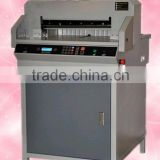 Electric guillotine paper cutter on sale, progaram-control paper cutting machine