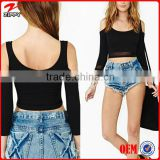 Hot Sale Body Blouses & Women Plus Size European Style Tops Black Female Tops 2014 Roupas Femininas                                                                         Quality Choice