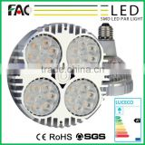 A small fan can speed the heat Long lifes led par 64 diameter 63mm gu10 6w par20 led spot light