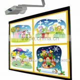 Support Dual Finger Touch Interactive Whiteboard Smart Whiteboard with Educational Software for School Meeting Room Use