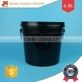 Good Quality 1 Gallon Plastic Pails, Latex Material Container, Plastic Paint Bucket