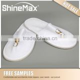Disposable hotel Plush slippers for guests eva non slip house custom hotel bath slippers
