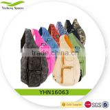 Multifunction unisex backpack one strap chest sling bag handle bag
