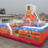 2016 sunjoy soft play boundary inflatable amusement park