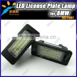 Manufacture Of Led License Plate Lamp For BMW E82 E88 E90 E90N E91 E92 E93 M3 E46 CSL Led License Light