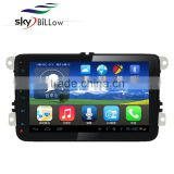 8 inch 2 din car multimedia player for vw golf 4 with gps navigation and built in bluetooth mould