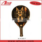 Carbon beach paddle ball racket