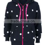 80% cotton 20% polyester sweatshirt fabric printed / allover print hoodie / fashion hoody