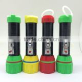 tiger head plastic led flashlight torch world export-ftp990
