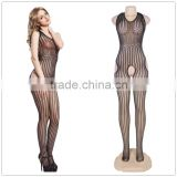 High elasticity sexy lingeries low back full body hot wholesale sexy lady bodystocking
