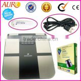 professional body composition monitor analyzer scale health care system beauty machine Au-888