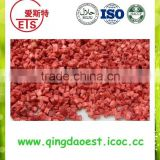 For export organic Frozen IQF strawberry dice and cube