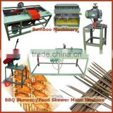 Complete Automatic bamboo bbq stick make machines Capacity 400,000pcs per 8 hours Whole Production Line