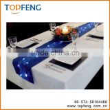 SparklingTable Runners Lights/safety lights for runners/led light for runners/table cover with led light/christmas table runner