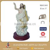 5 Inch Polyesin Handmade Catholic Craft Jesus Christ Statue